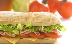 Groupon: Sub Combo Meal for Two or Four or One or Two Party Platters from Brickhouse Subs (Half Off) Sandwiches, Submarine Bread Recipe, Meals For Four, Italian Deli, Olive Salad, Night Food, Seafood Salad, Party Platters, Piece Of Bread
