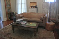 This is the New Orleans home of Discoveries Furniture & Finds owners Scott & Cat McKearn with an assortment of furniture & finds from their travels/Discoveries.