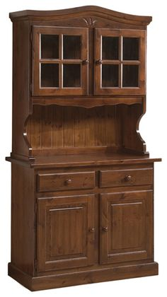 Pin on Kombuiskaste Hardwood Furniture, Home Decor Furniture, Vintage Furniture, Furniture Design, Crockery Cabinet, Living Room Entertainment Center, Bookshelf Design, Home Repairs, Woodworking Furniture