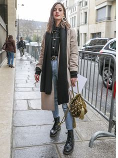 Paris Street Style - ELLE Japan