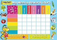 reward chart template for kids