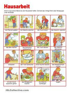 Bilderwörterbuch - Hausarbeit