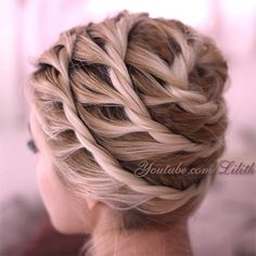 Twisted Updo Tutorial by Lilith Moon Hair