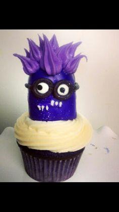 Despicable Me party cupcake!