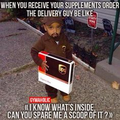 You Receive Your Supplements Order