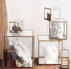 Roost Glass Mirror Boxes.