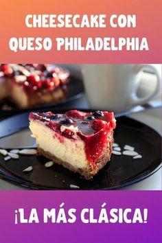 Cheesecakes, French Toast, Breakfast, Recipes, Cheesecake Philadelphia, Flan, Dessert, Salads, Best Cheesecake