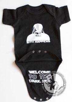 Star Wars Sith Happens Welcome To The Dark by WhiteRabbitVinylLite