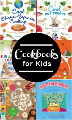 Cookbooks for Kids~Learn together and enjoy family time with these fun cookbooks. Includes easy recipes, international foods, pet recipes and more.
