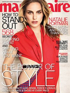 Ooh La La @ #NataliePortman on the cover of #MarieClaire and her relocation to Paris! #lierac #lieracskin #oohlala #fashion #beauty #style