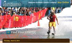 Springfest & Pond Skim THIS Weekend! | Liberty Mountain Resort http://skipa.com/resort-info/media-center-press-room/ski-area-press-releases/514-springfest-pond-skim-this-weekend-liberty-mountain-resort