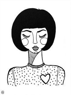 Random illustrations on Behance Art Sketches, Art Drawings, Lino Art, Outline Art, Sad Heart, Heart Gif, Illustration Art Drawing, Bullet Journal Art, Art Sketchbook