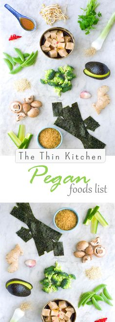The Pegan diet is a modified version of the Paleo and Vegan diets. The Pegan diet takes the best, most healthful qualities of both diets, creating an eating style that combines the best of two wor… Healthy Chicken Recipes, Paleo Recipes, Whole Food Recipes, Paleo Vegan Diet, Vegetarian Paleo, Nordic Diet, Clean Eating, Healthy Eating, Get Thin