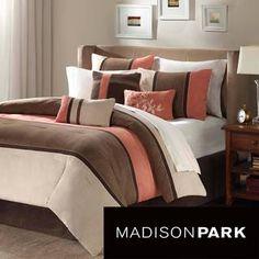 Madison Park Hanover 7-piece Comforter Set | Overstock.com Shopping - The Best Deals on Comforter Sets