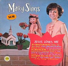 "Marcy Sings ""Jesus Loves Me"" Worst Album Covers, Music Album Covers, Music Albums, Lp Cover, Vinyl Cover, Cover Art, Smosh, Bible Songs For Kids, Bad Album"