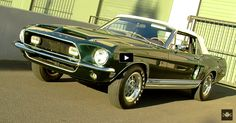 All About The Spectacular 1968 Mustang Shelby GT500 KR