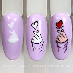 Nails by step Nail Art Blog, Nail Art Hacks, Nail Art Diy, Diy Nails, Cute Nails, Pretty Nails, Neon Nails, Nail Art Designs Videos, Nail Art Videos