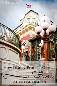 How Disney Protects Guests From Potential Tragedy! #Disney #DisneyWorld #Disneyland