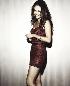 Mila Kunis. She's so pretty.