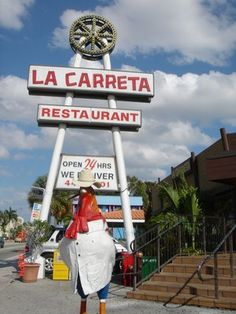 La Carreta - SW 8th St - Miami Florida  AMAZING Cuban restaurant
