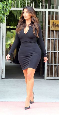 Kim Kardasian - thick is in... so go eat!