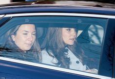 Fresh-faced The Duchess of Cambridge looked fresh-faced and healthy as she arrived at volunteering charity Family Friends this morning