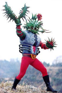 "The kaiju eiga (literally ""monster movie"" in Japanese) was born in 1954 with Ishiro Honda's landmark masterpiece Godzilla. Its immense international success… Japanese Monster, Japanese Costume, Scary Monsters, Monster Design, Retro Futurism, Kamen Rider, Vintage Japanese, Japanese Art, Godzilla"