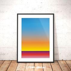 Ich freue mich, den jüngsten Neuzugang in meinem #etsy-Shop vorzustellen: Printable Art, Fading, Blue Yellow Pink, Horizont, Digital Art Print, Digital Download, Color Fading Poster, Abstract Landscape http://etsy.me/2FpT2Sw #kunst #drucke #digital #blau #regenbogen #p