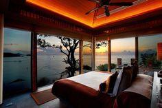 Todos deberíamos ver alguna salida o puesta de sol de vez en cuando y si es desde el dormitorio sería todo un lujo.