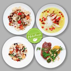 Hello Fresh recipe service delivers ingredients to your home