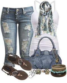 Plus size summer fashion Cute Summer Outfits, Stylish Outfits, Spring Outfits, Cool Outfits, Fashion Outfits, Womens Fashion, Fashion Trends, Stylish Eve, Style Fashion