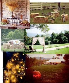 Rustic / Fall wedding