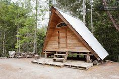 A-Frame Rustic Off-Grid Cabin in Gasquet