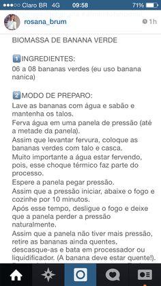 Receita biomassa de banana verde 1
