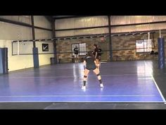 Amanda Karan Volleyball Skills Video (Libero, 2014) - YouTube