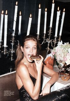 Dessert anyone ? – Natalia Vodianova is Love Dessert anyone ? – Natalia Vodianova is Love Natalia Vodianova, Laugh At Yourself, Playlists, Girls Night, Editorial Fashion, Braided Hairstyles, Supermodels, Versace, Marie