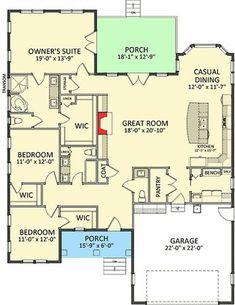 Stylish Northwestern House Plan - 46281LA | 1st Floor Master Suite, CAD Available, Craftsman, Northwest, PDF | Architectural Designs