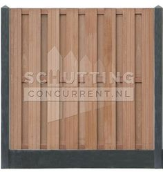 21 planks (vol privacy) hardhouten scherm met antraciet beton Patio, Texture, Wood, Crafts, Gardens, Close Board Fencing, Surface Finish, Manualidades, Terrace