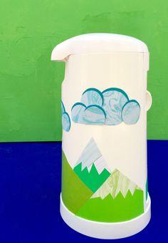 DIY Mountain Diaper Pail Project