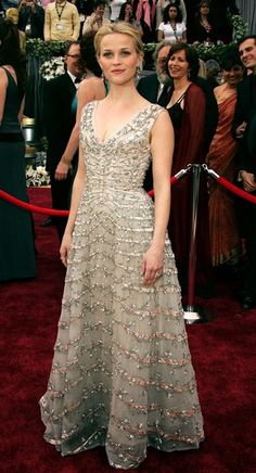 Reese Witherspoon - 2006 Oscars Dress found in a little boutique in Paris