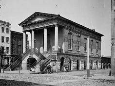 The old Market House (188 Meeting Street), Charleston, SC Original Photographs from the Civil War  [2015: It was still there in 1974.]