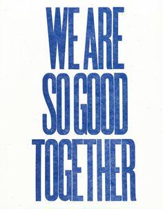 it's true, we are