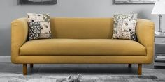 Peachtree is a world class brand of furniture and accessories, born from a confluence of strong design aesthetics, product innovation, craftsmanship and international furniture expertise. These new sofa set designs feature a tub-like structure that is perfect for compact spaces. These sofas can easily pair with any contemporary or modern decor. You will find these sofa sets in colors like beige, maroon, blue, and others. With Pepperfry, you can directly begin your search by selecting your… Wooden Sofa Set Designs, Sofa Set Online, Three Seater Sofa, Sofa Furniture, Modern Decor, Living Room Decor, Love Seat, Cool Designs, Contemporary
