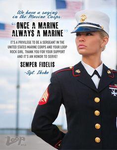 Once a Marine, Always a Marine