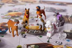 Hand painted miniatures for our dog based family board game! We only want the best for you!