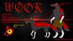 Мой персонаж Вук My fursona Wook