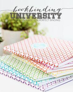 Bookbinding University Style Watch Edition: Perfect Binding