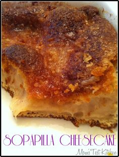 Mom's Test Kitchen: Sopapilla Cheesecake : Crazy Cooking Challenge