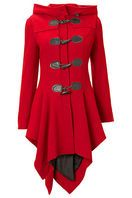 Red riding hood inspired coat