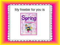 Grab Your Freebie!  It's Time to Hop from Blog to Blog!!